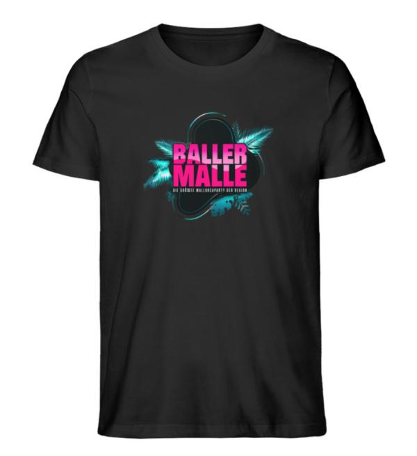 Baller Malle Shirt - Herren Premium Organic Shirt-16