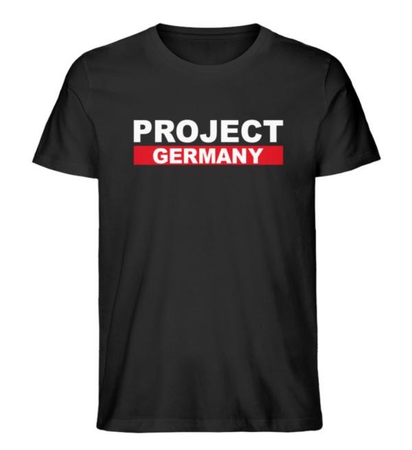 "Project Germany Shirt Men ""Big Label"" - Herren Premium Organic Shirt-16"